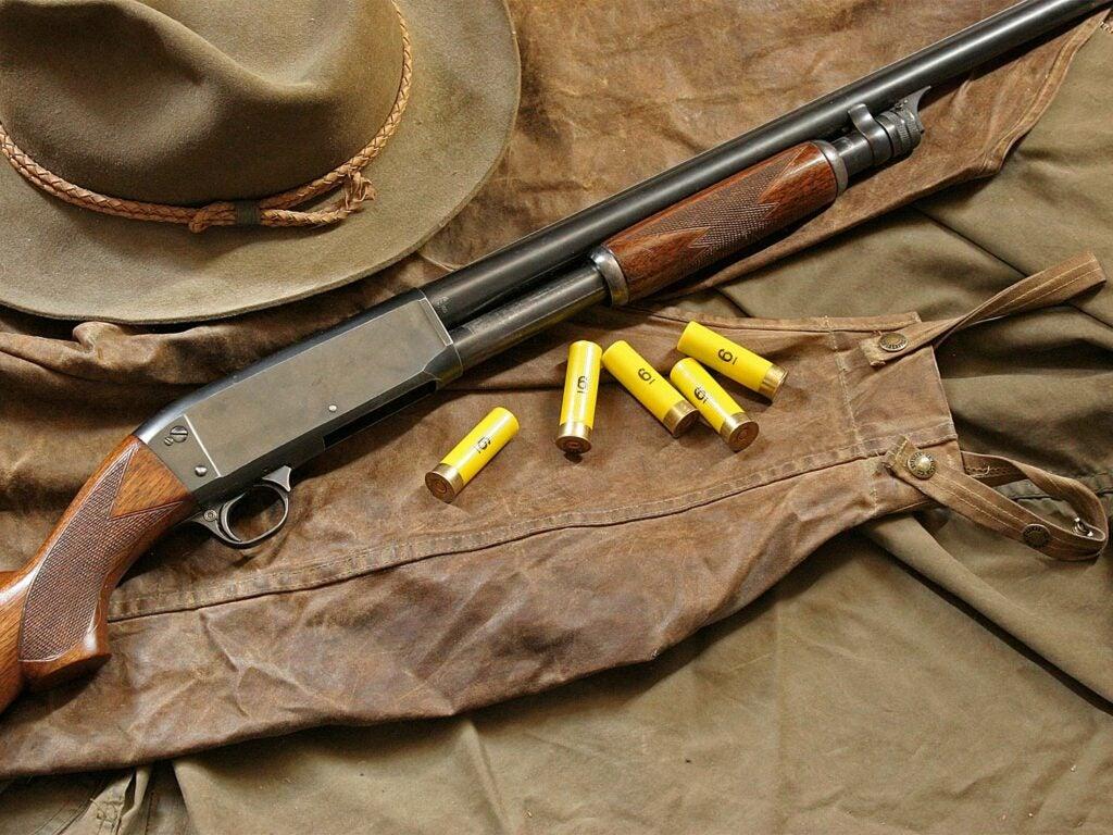 Remington Model 17 pump-action shotgun