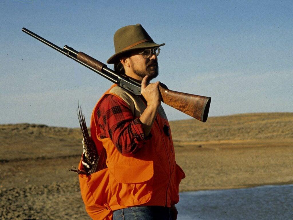 winchester 1897 pump-action shotgun