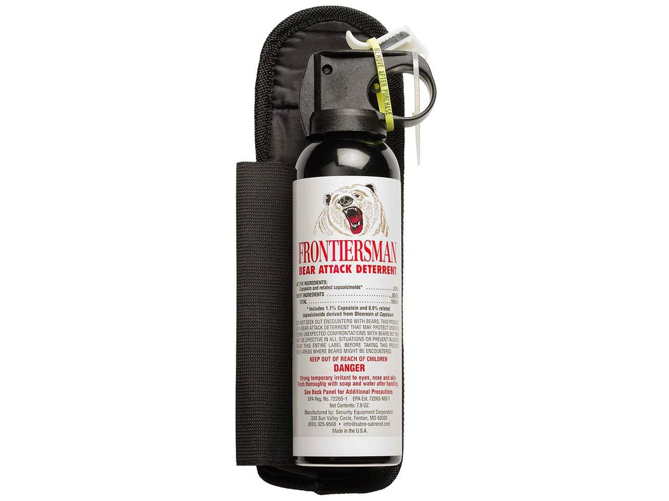 Sabre Frontiersman Bear Spray 7.9 oz
