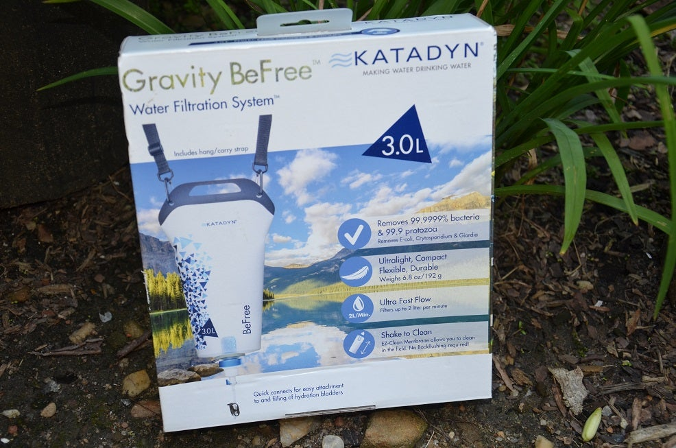 gravity be free water filters