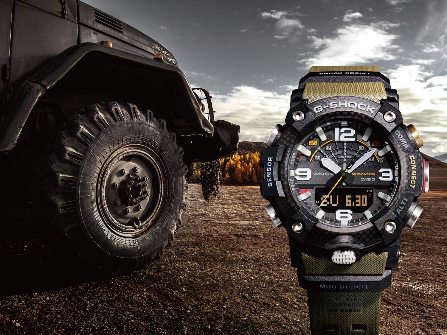 The G-SHOCK Mudmaster GG-B100 Watch is Perfect for Hunters and Anglers