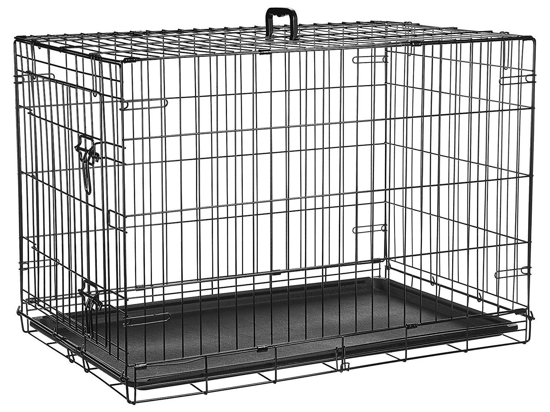 amazon basics collapsible kennel