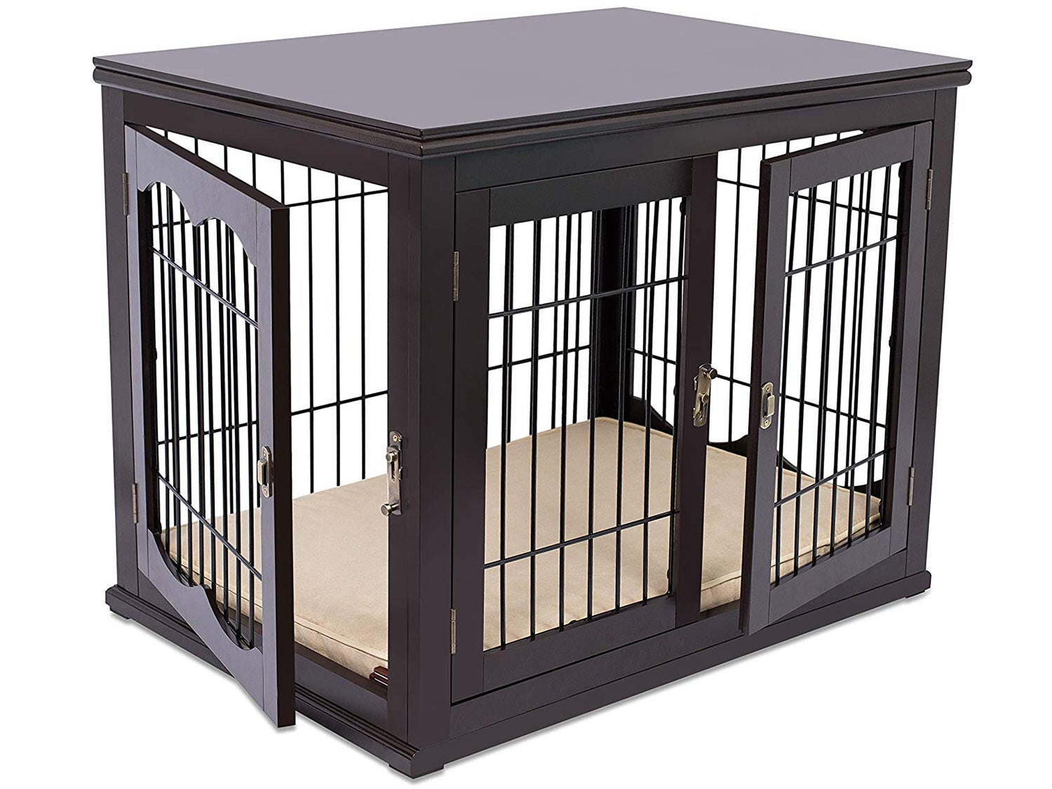 Internet's Best Wood & Wire Dog Crate