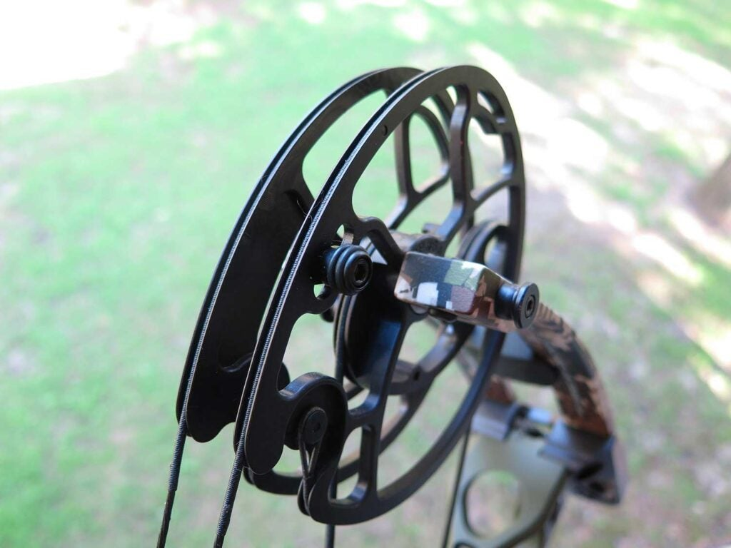 compound bow limb cable stops