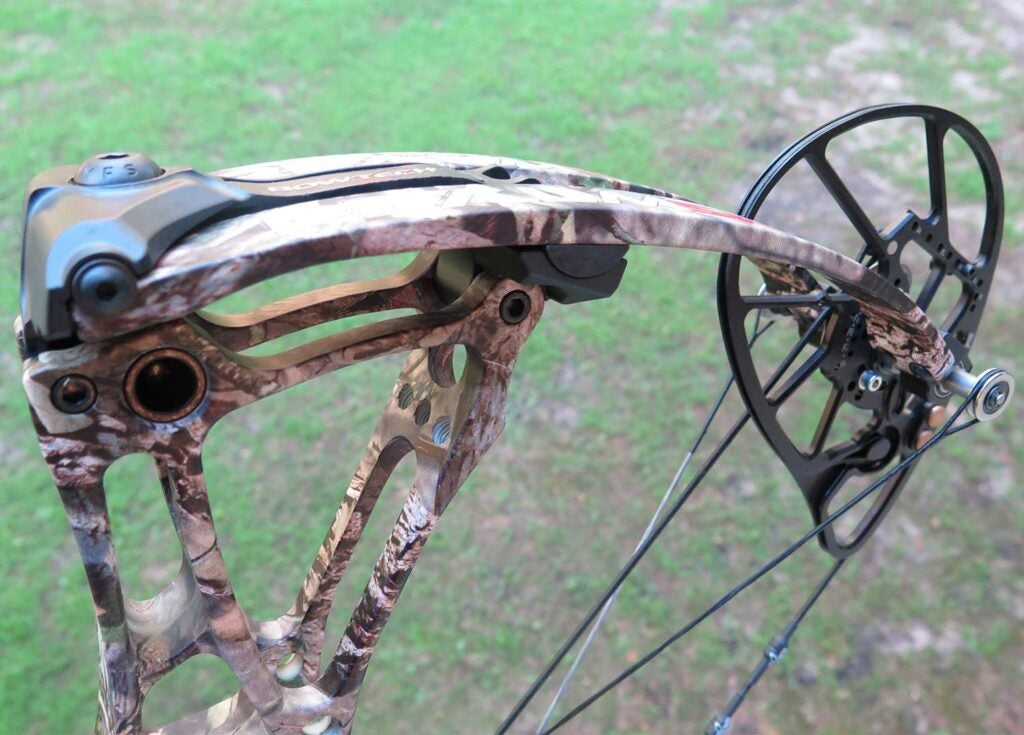 a compound bow with improved limb-locking systems