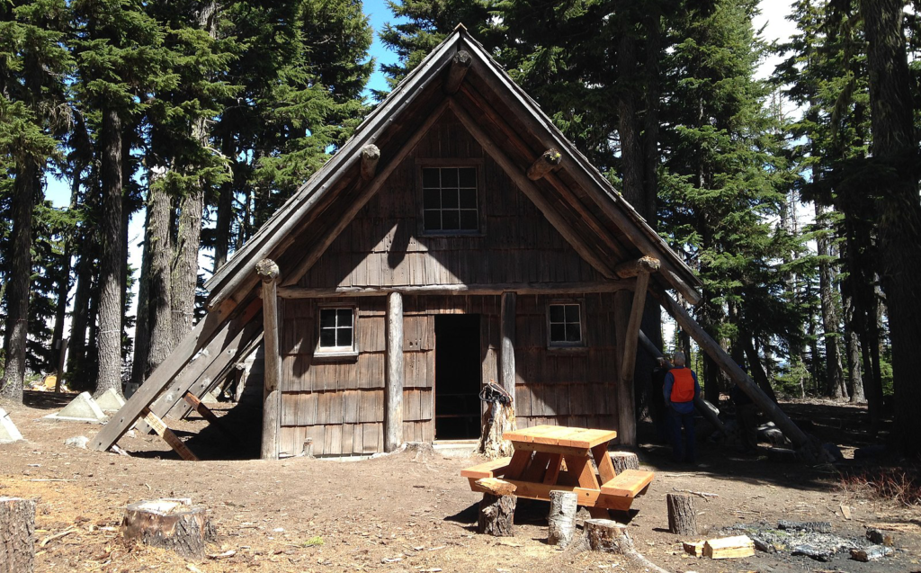 forest service cabin