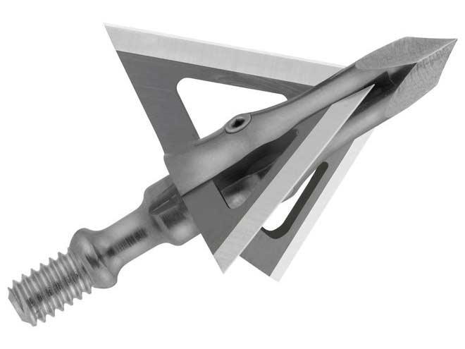 A Muzzy Trocar fixed-blade broadhead