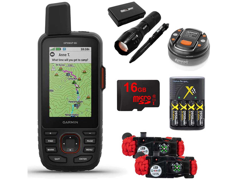 Garmin GPSMAP 66i GPS Handheld and Satellite Comm