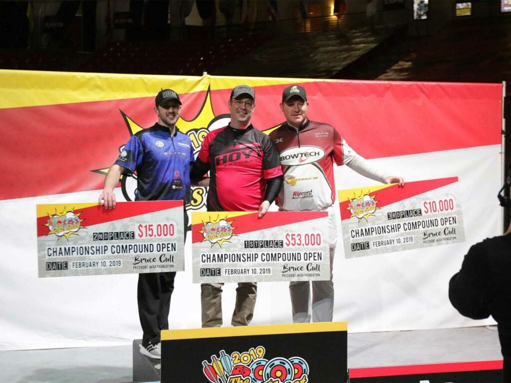vegas archery shoot prize money