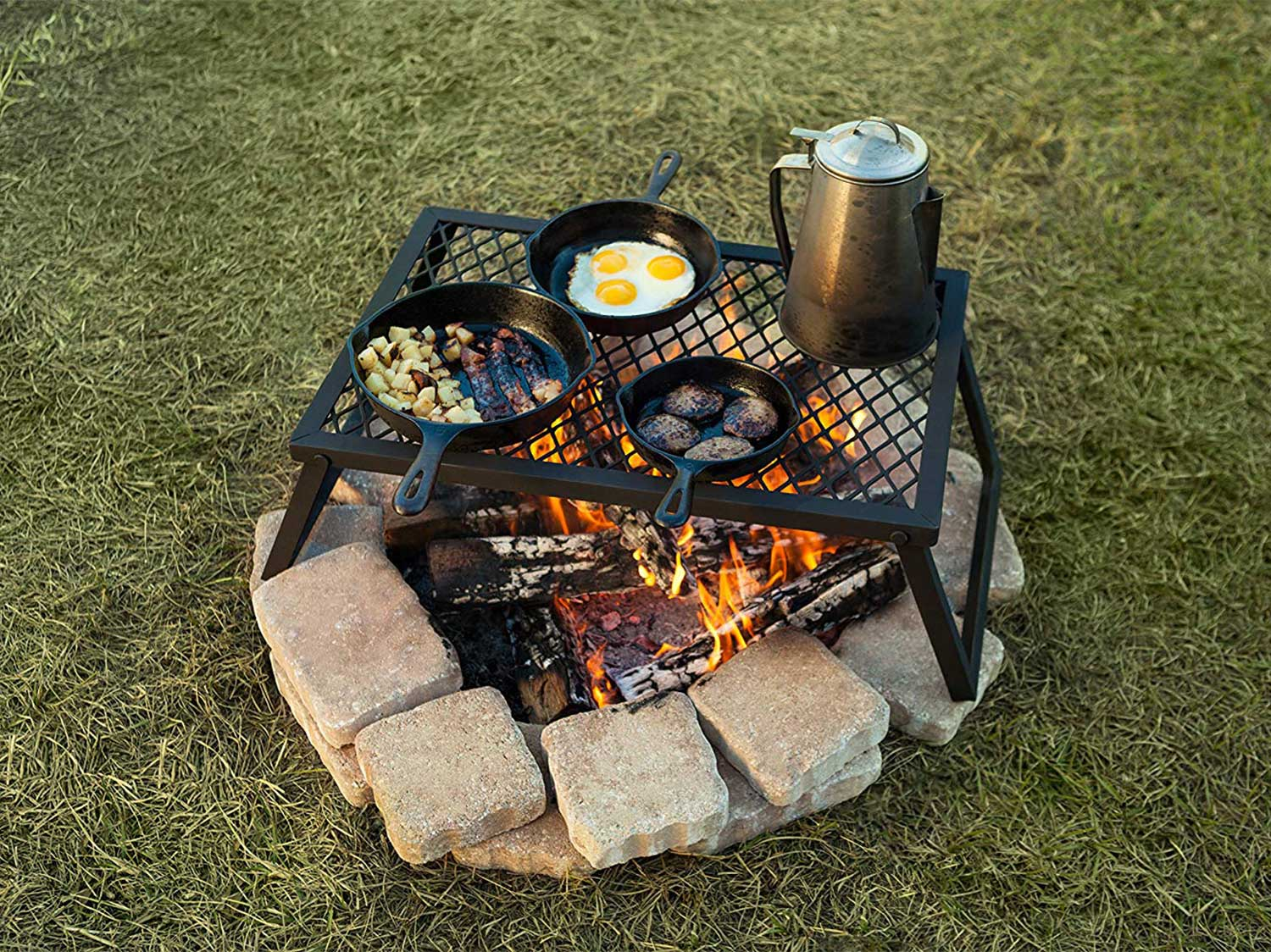 3 Easy Ways to Cook over an Open Fire