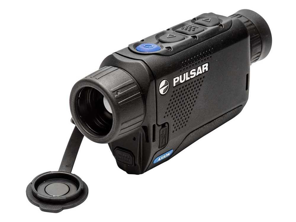 Pulsar Axion Thermal Monocular