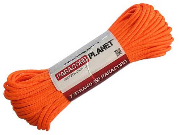 paracord planet mil spec in orange