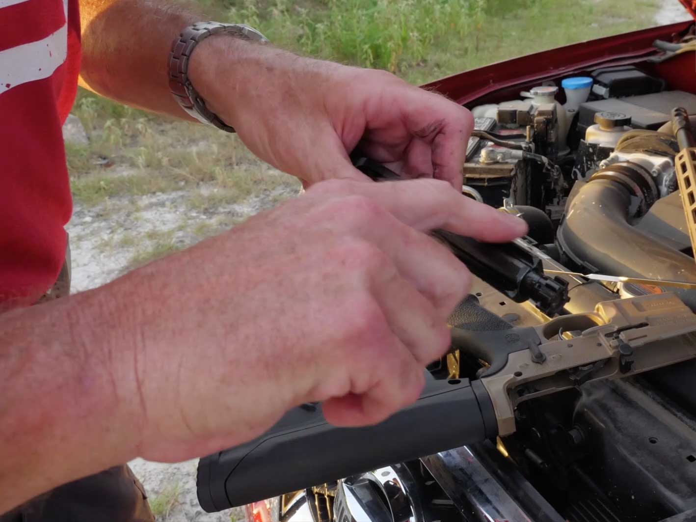 No Gun Oil, No Problem – Beating Dust and Wind with Motor Oil