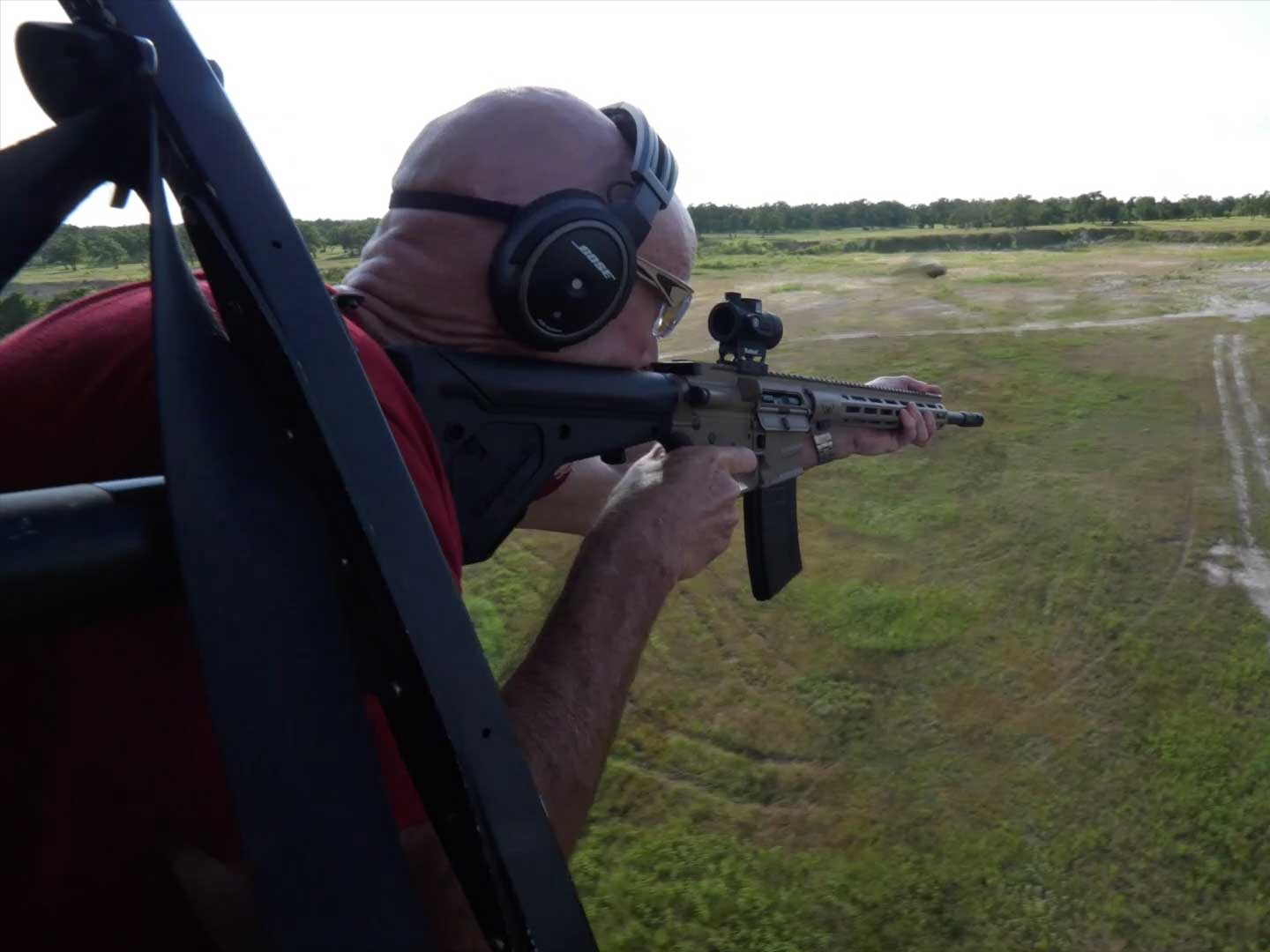 Shooting from a Helicopter at HeliBacon
