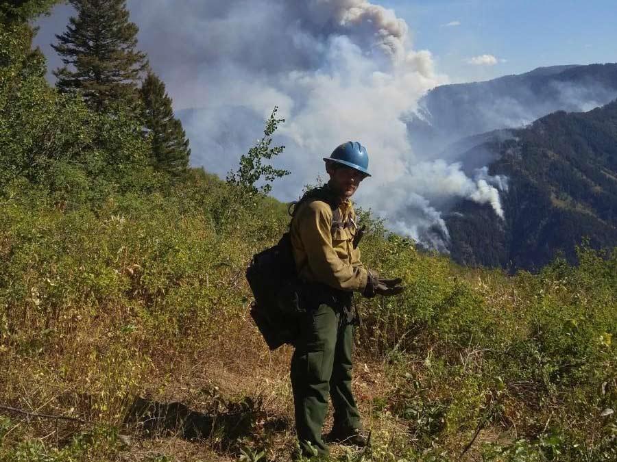 Christian Tucker wildlife firefighter
