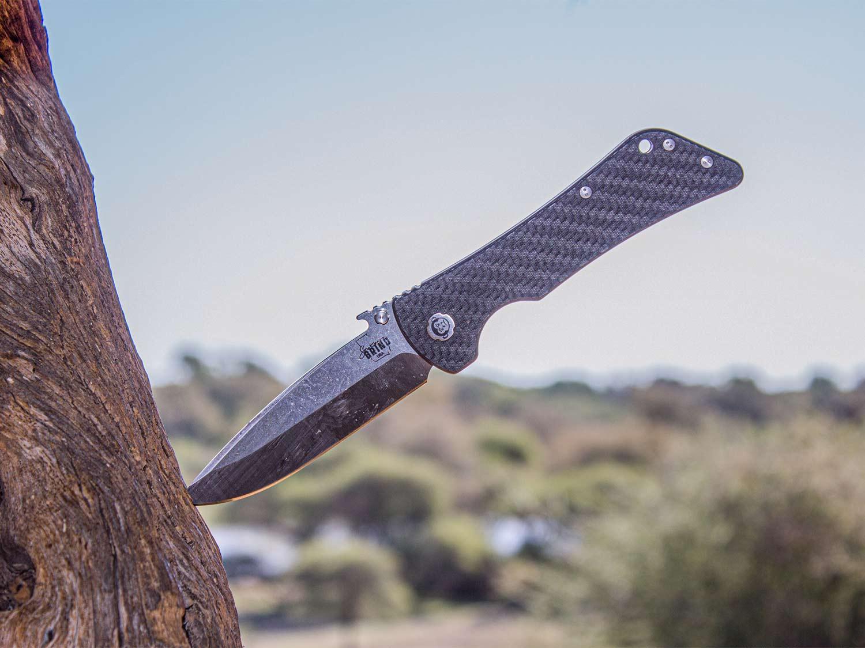 a bad monkey knife in a tree