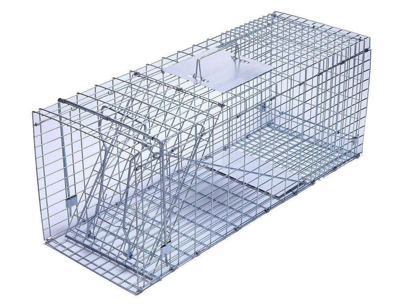 trapro large collapsible humane live animal cage