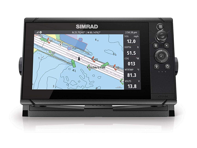 Simrad marine GPS