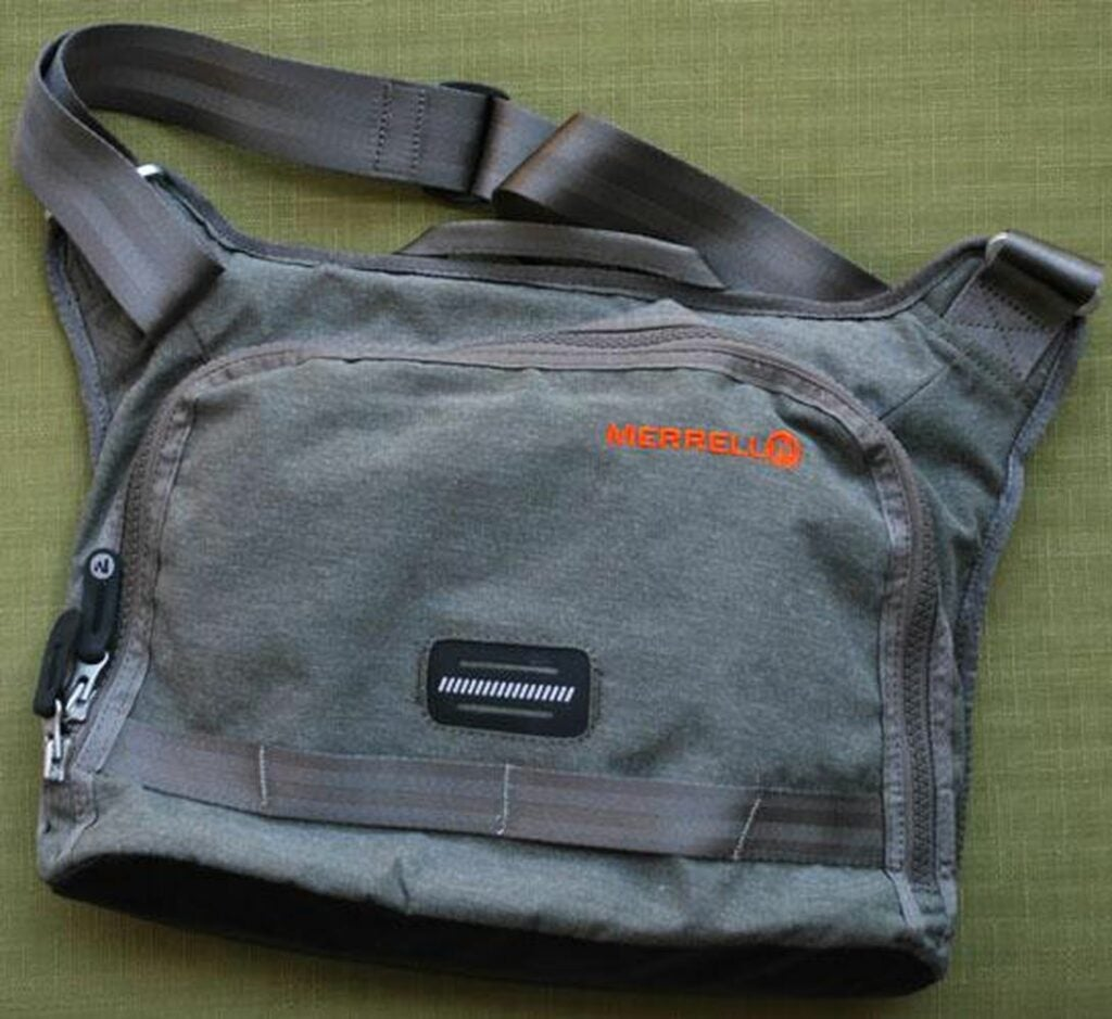 The Merrell Westerville Tablet bag.