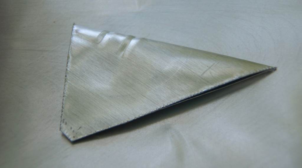 The metal edges of a sheared beer can may be used as a weapon.