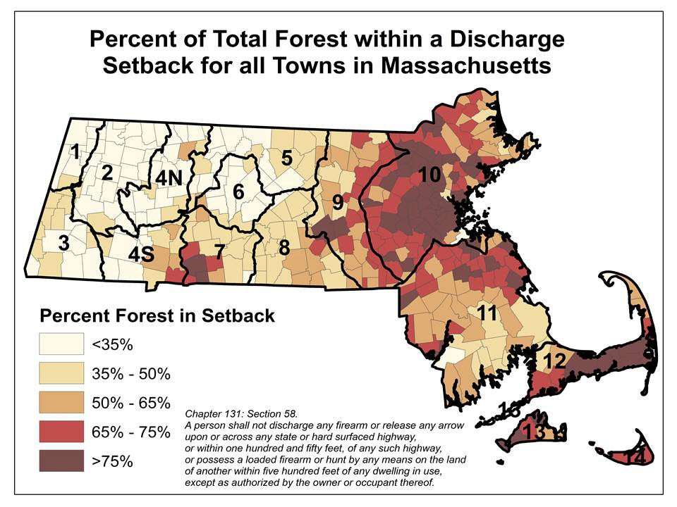 total forest setback infograph of massachusetts