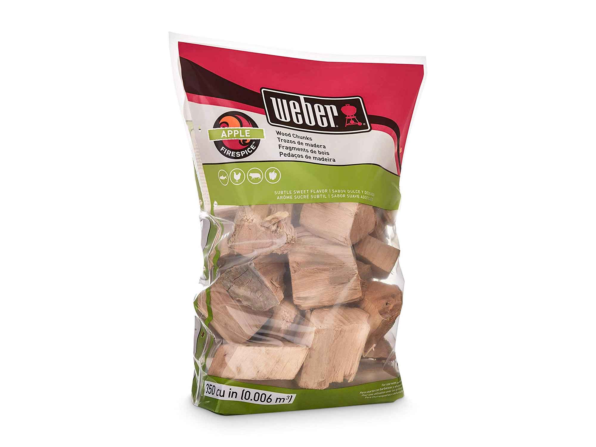 Weber smoking wood chunks
