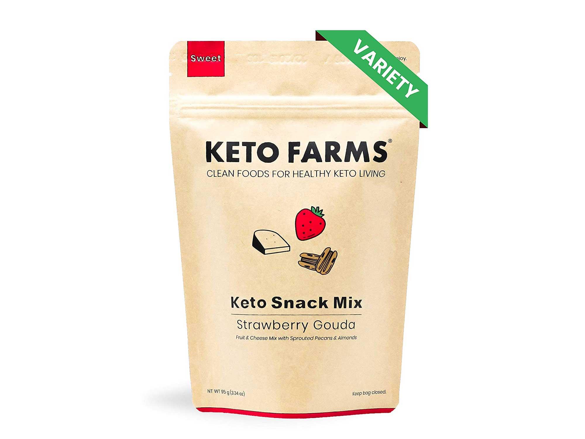 Keto farms dried snacks