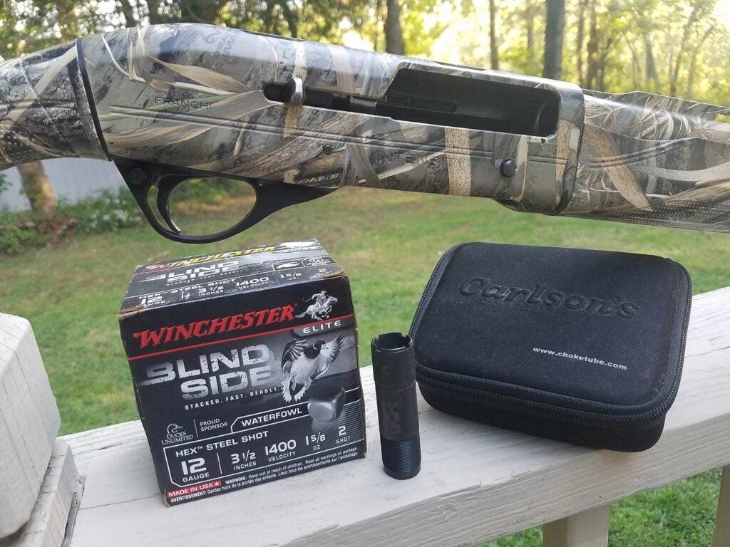 goose hunting ammo and shotgun