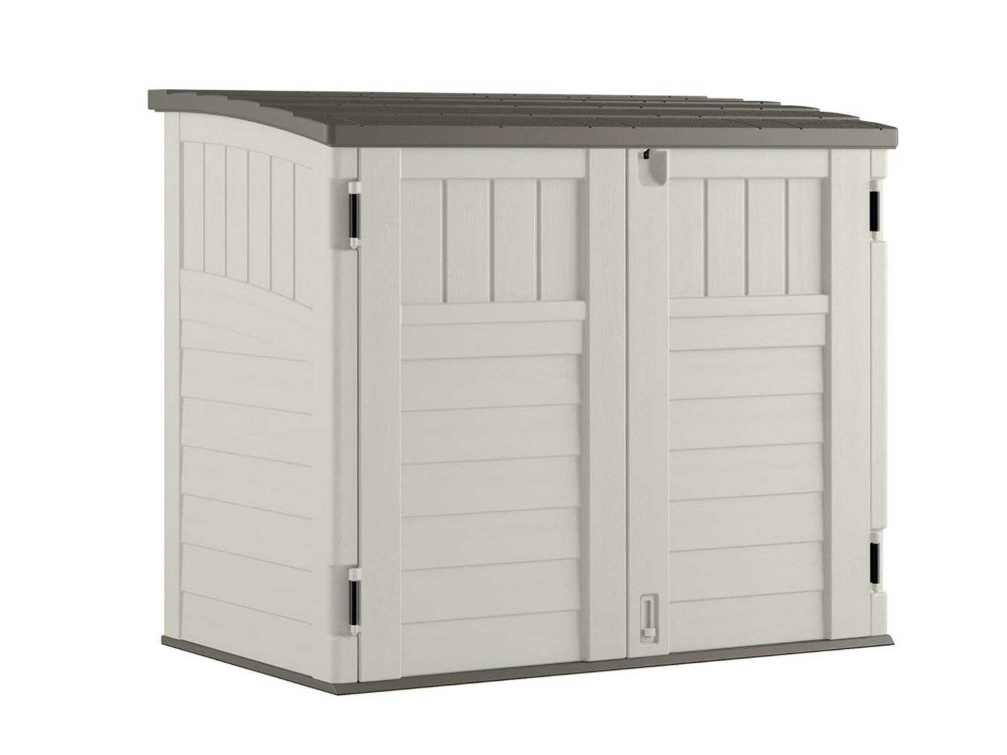 Suncast outdoor shed