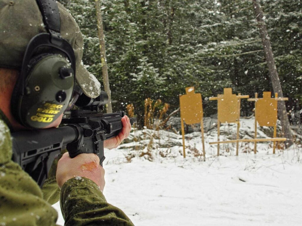 A carbine shooting drill to improve your shooting accuracy.