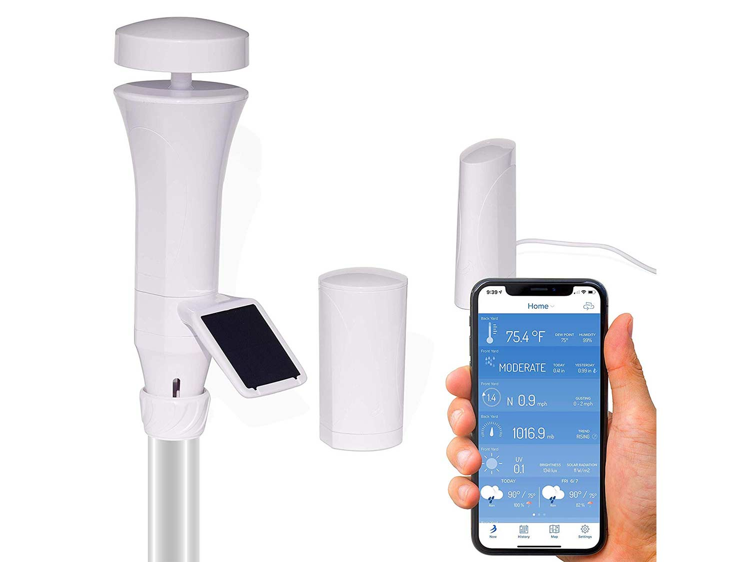 WeatherFlow Smart Home Weather Station with WiFi