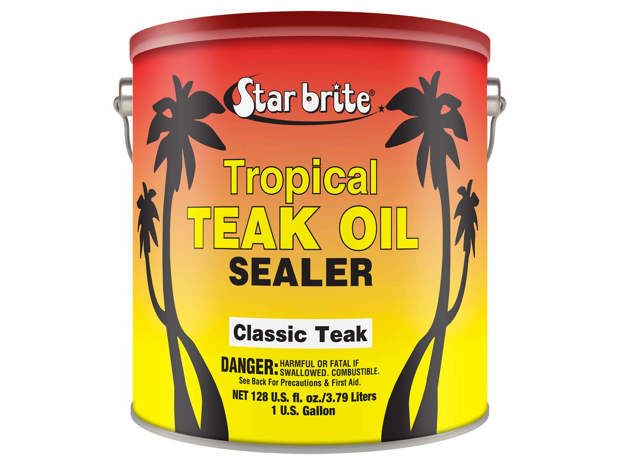 Teak oil sealer
