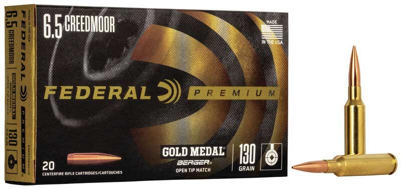 Federal Gold Medal Match 130-grain Berger