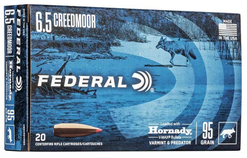 Federal 95-grain Hornady V-Max