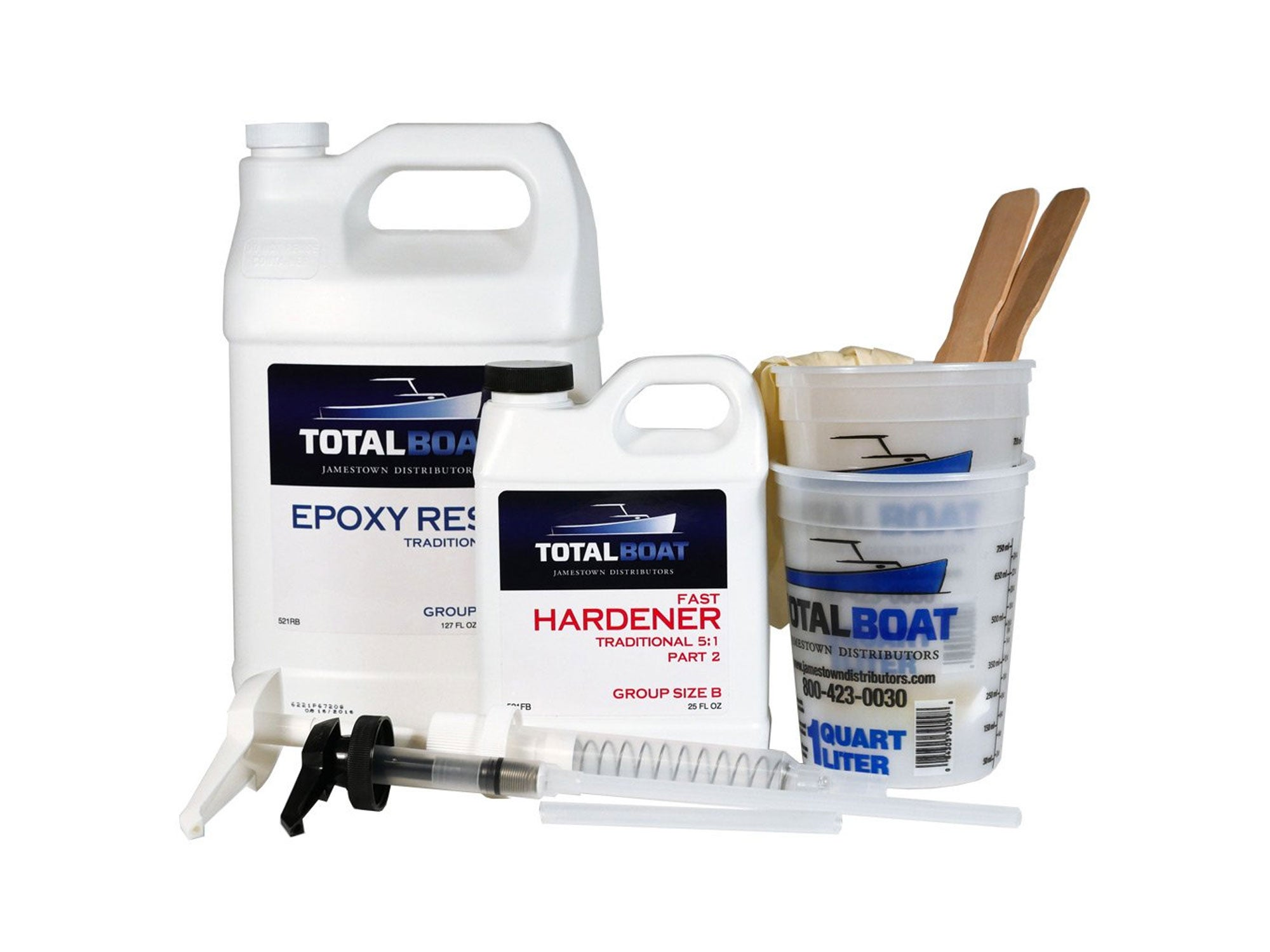 Total Boat epoxy resin kit