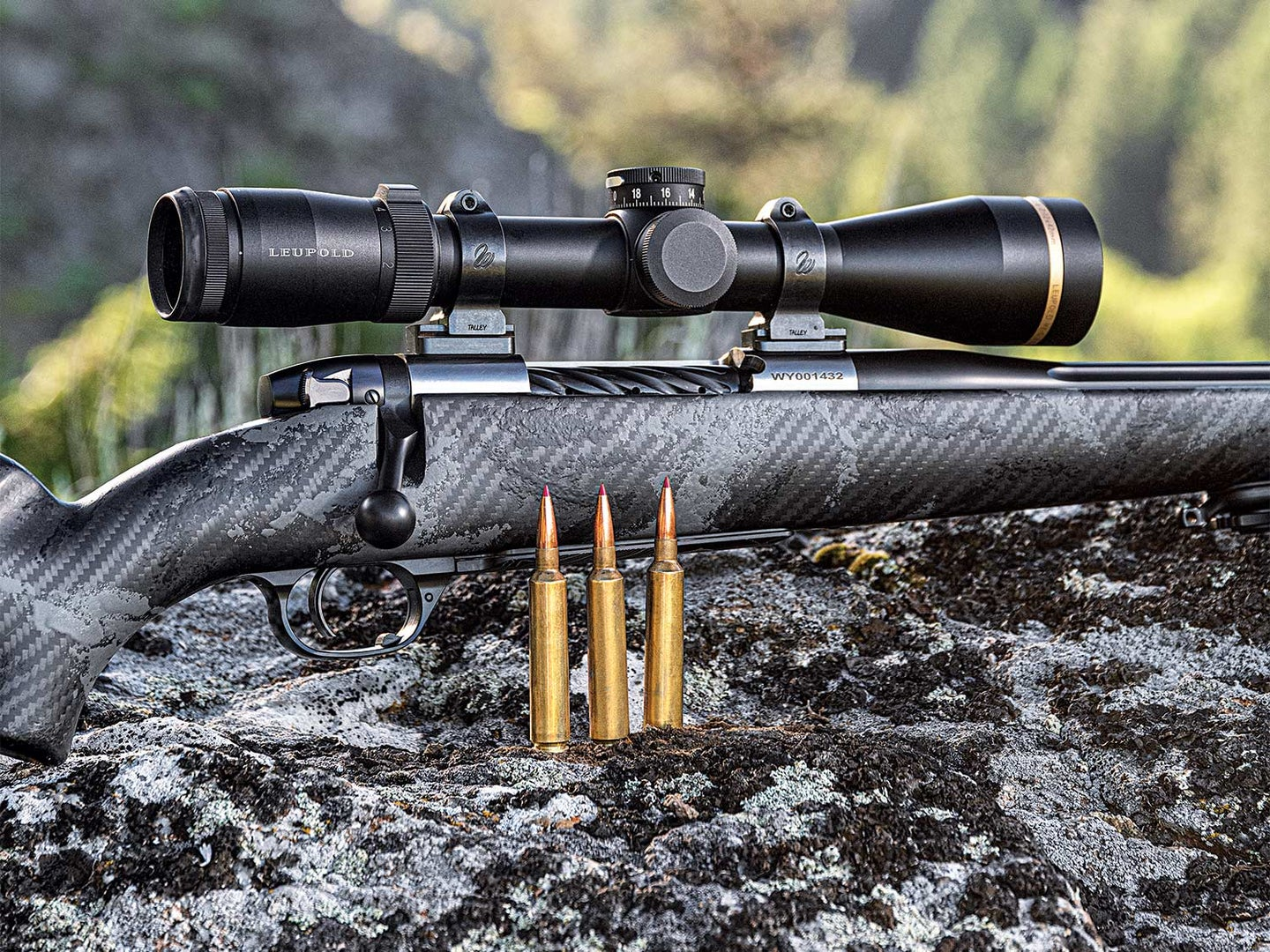 a weatherby rifle with rpm rounds