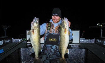 Catch Giant Fall Walleyes at Night
