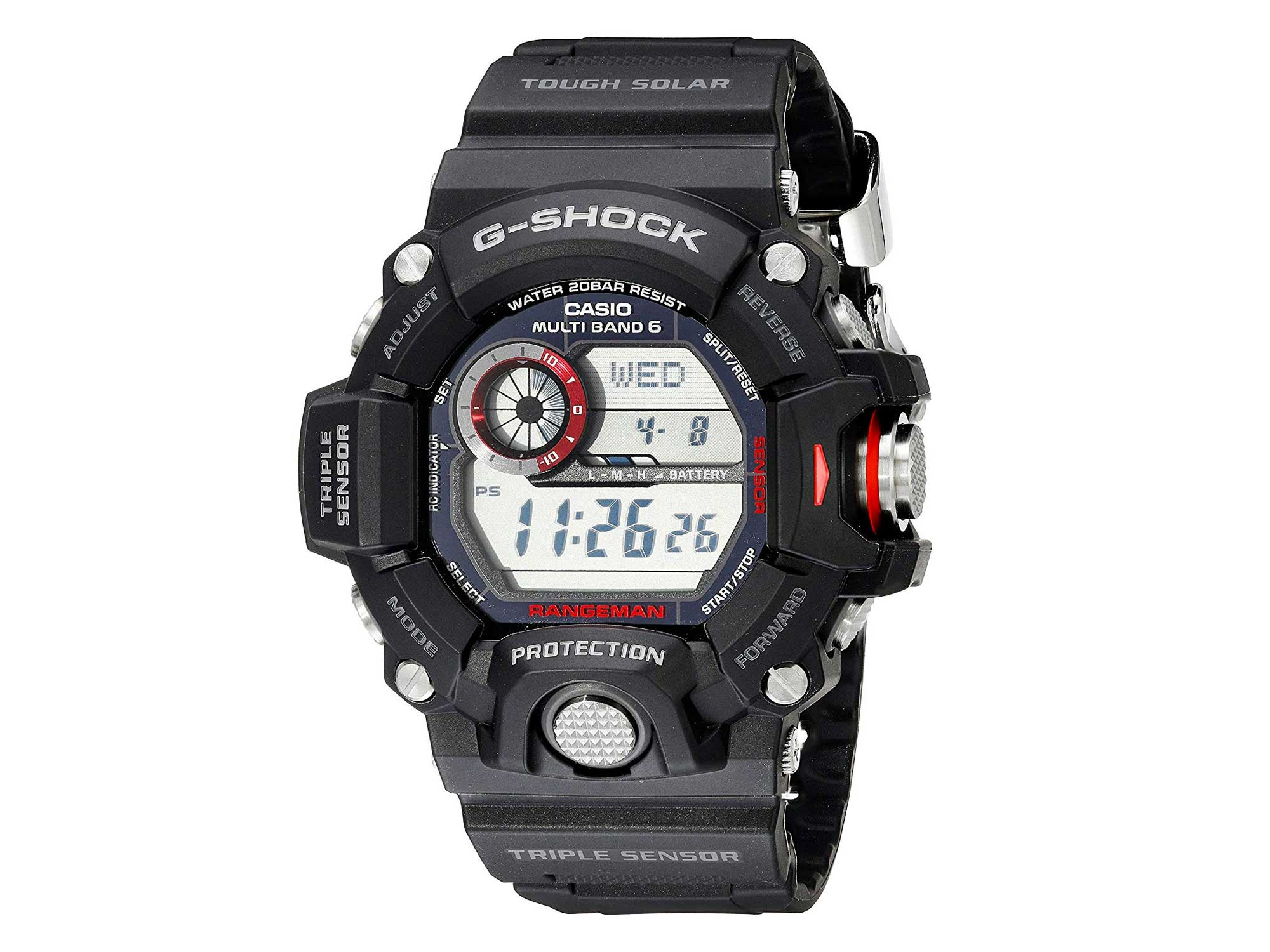 cascio g shock solar watch