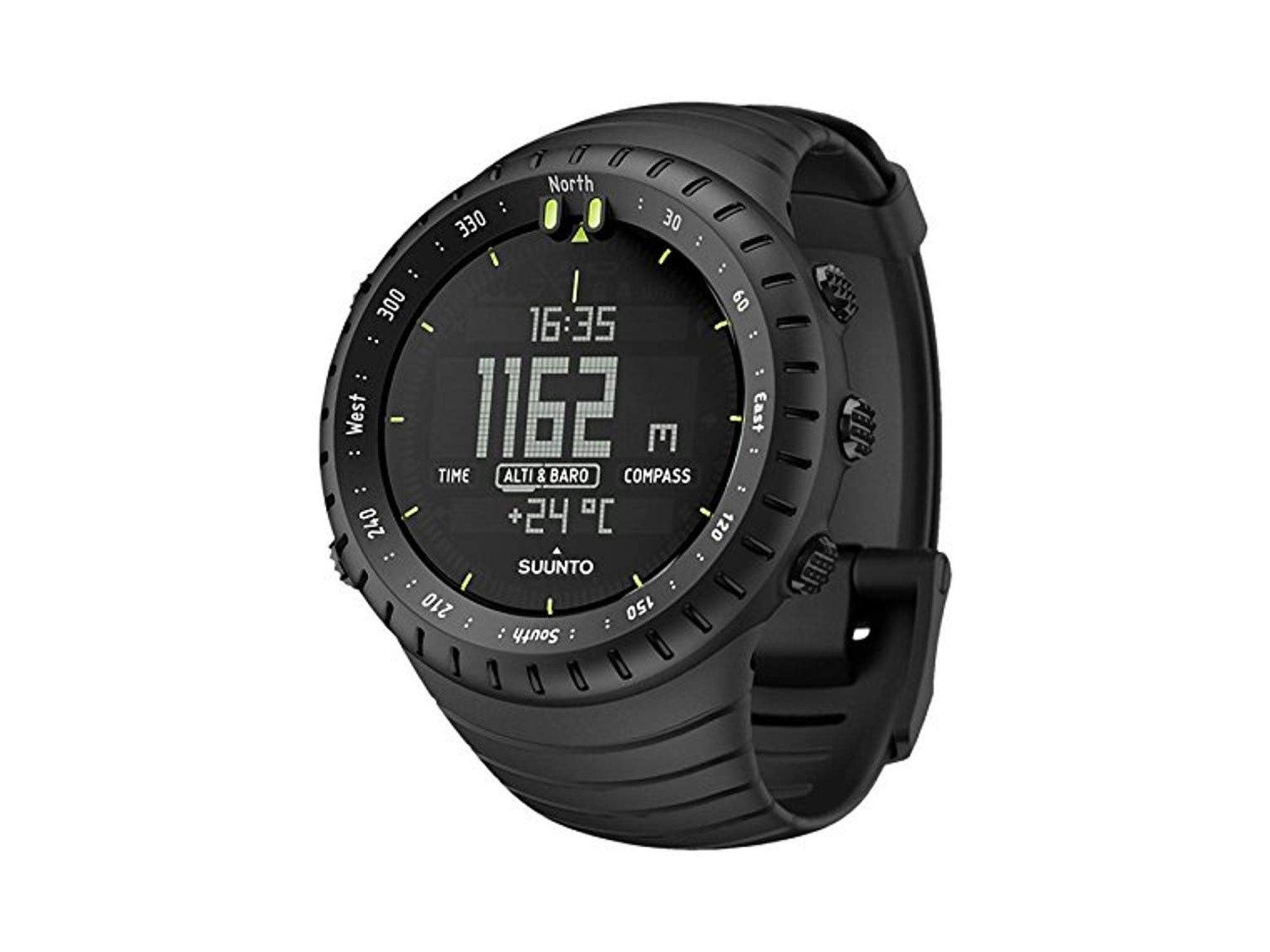 Suunto black military watch