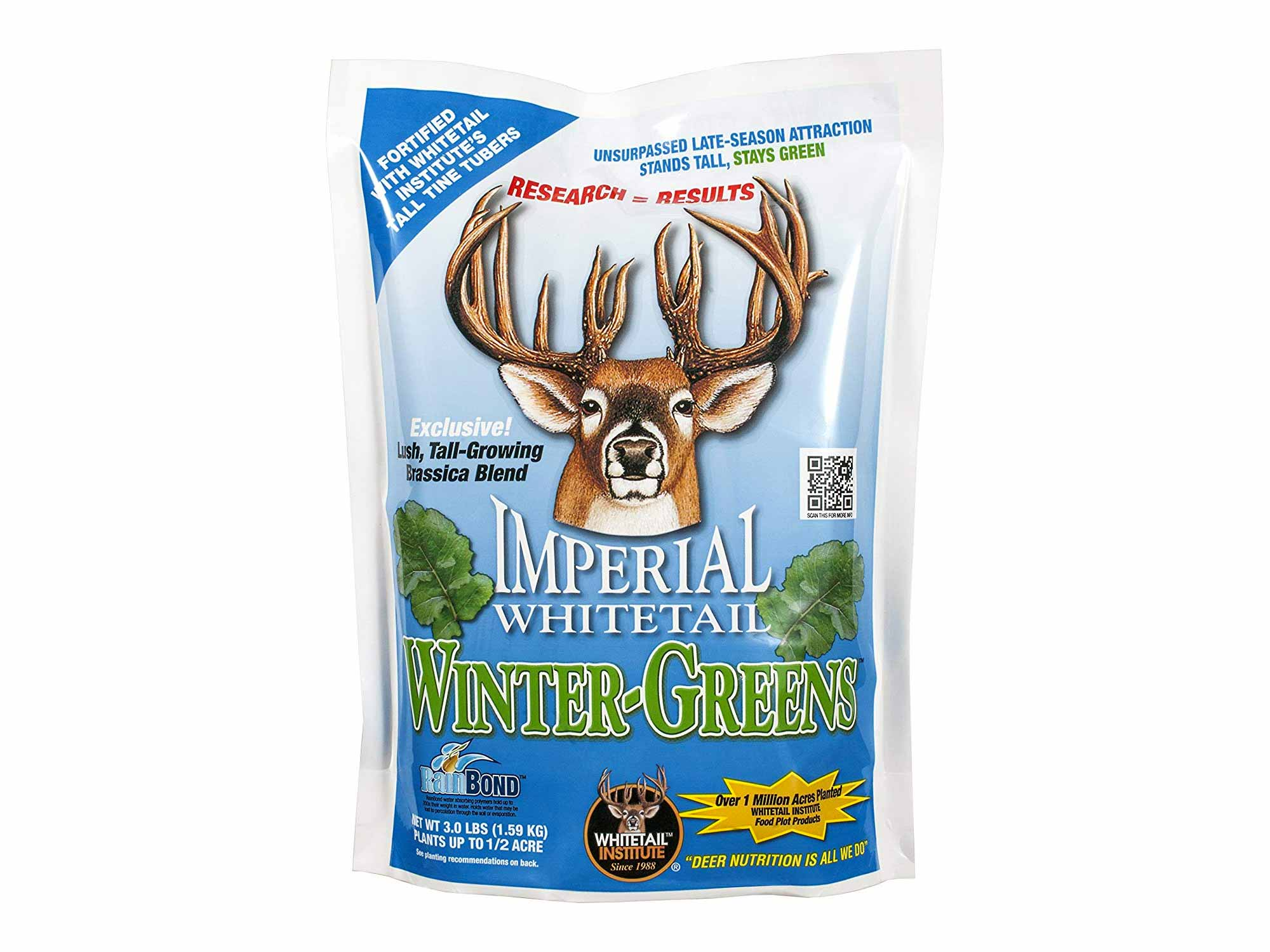 Imperial whitetail deer feed