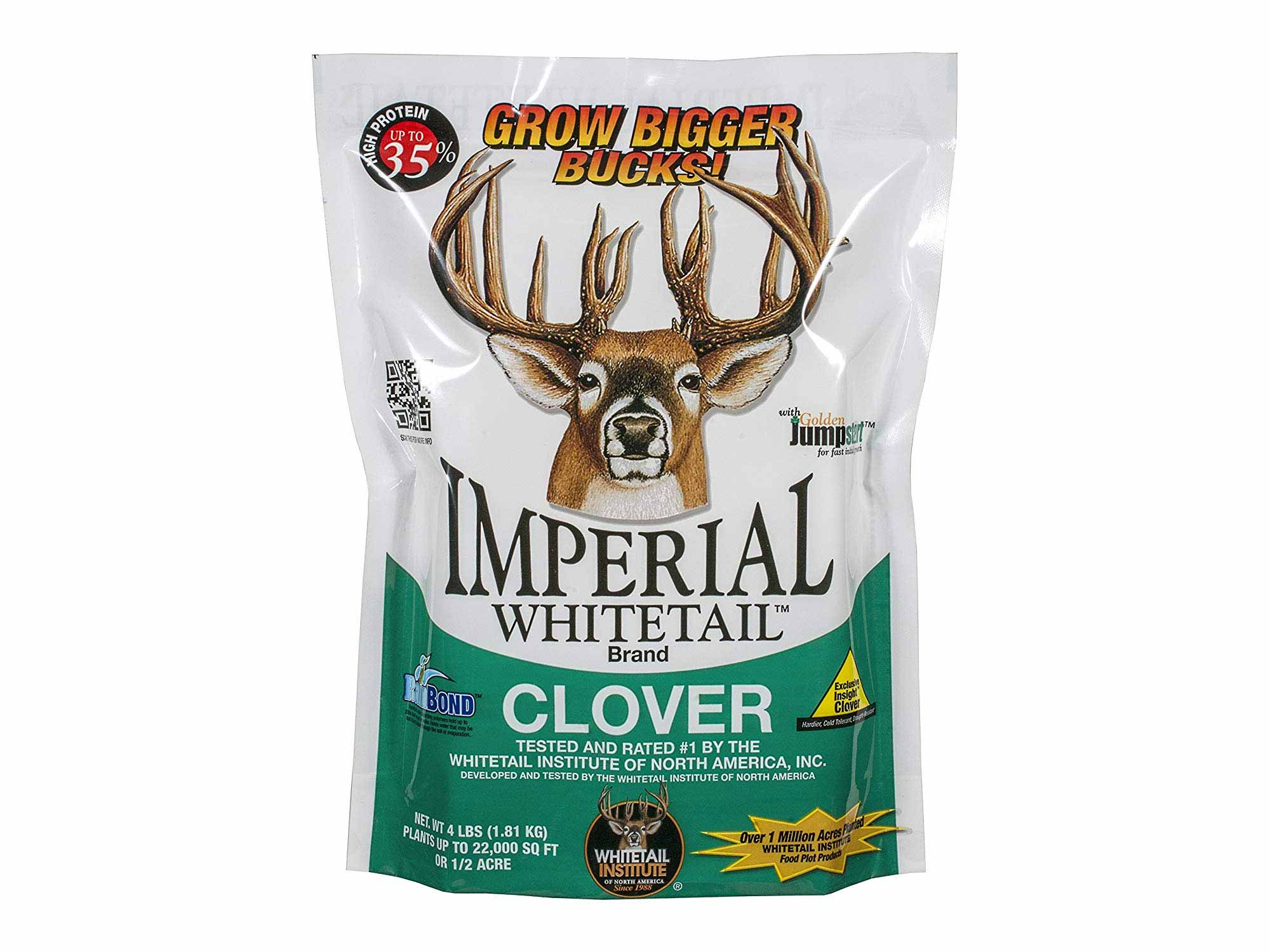 Imperial whitetail clover deer feed