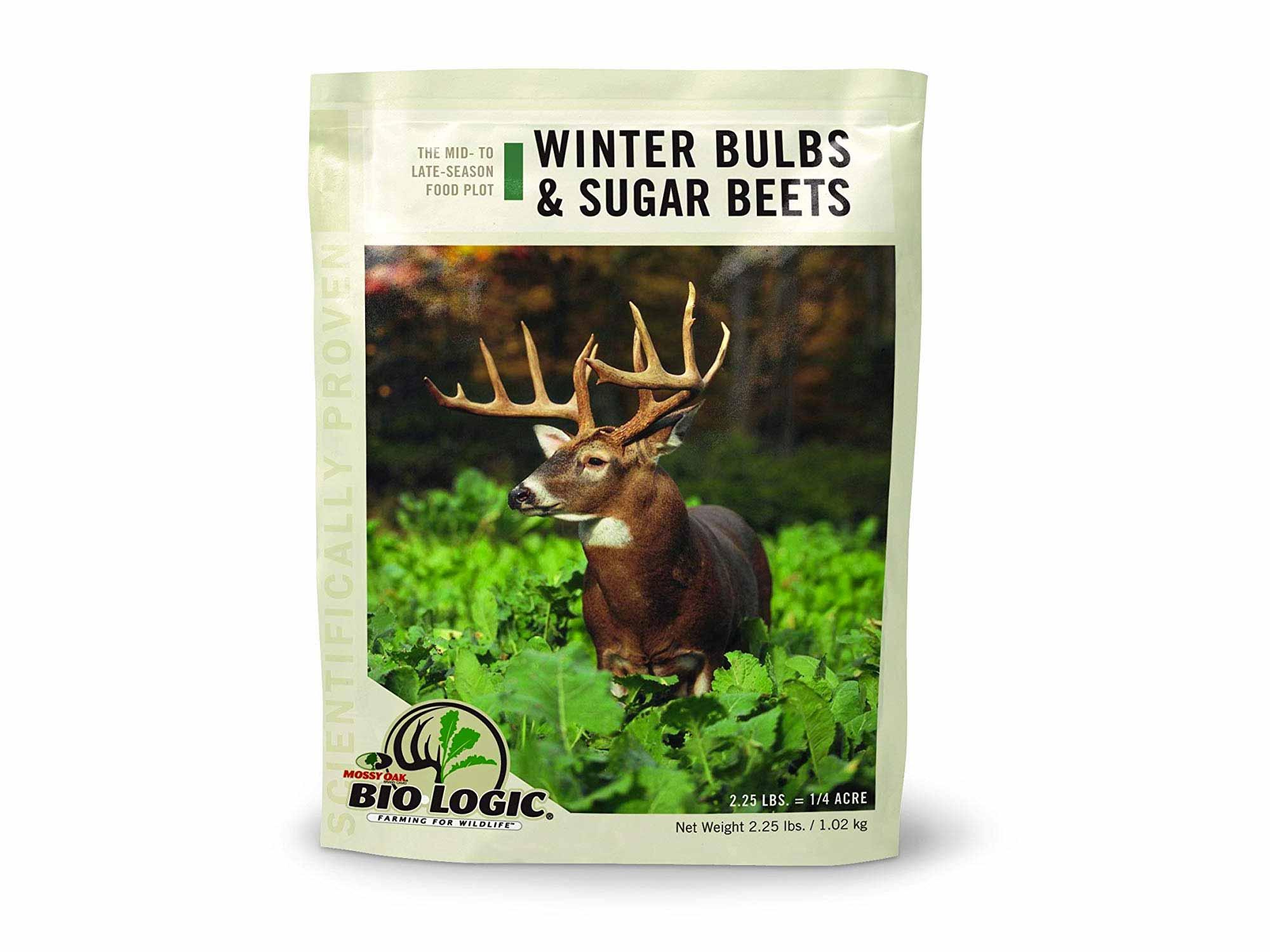 Biologic sugar beet deer feed