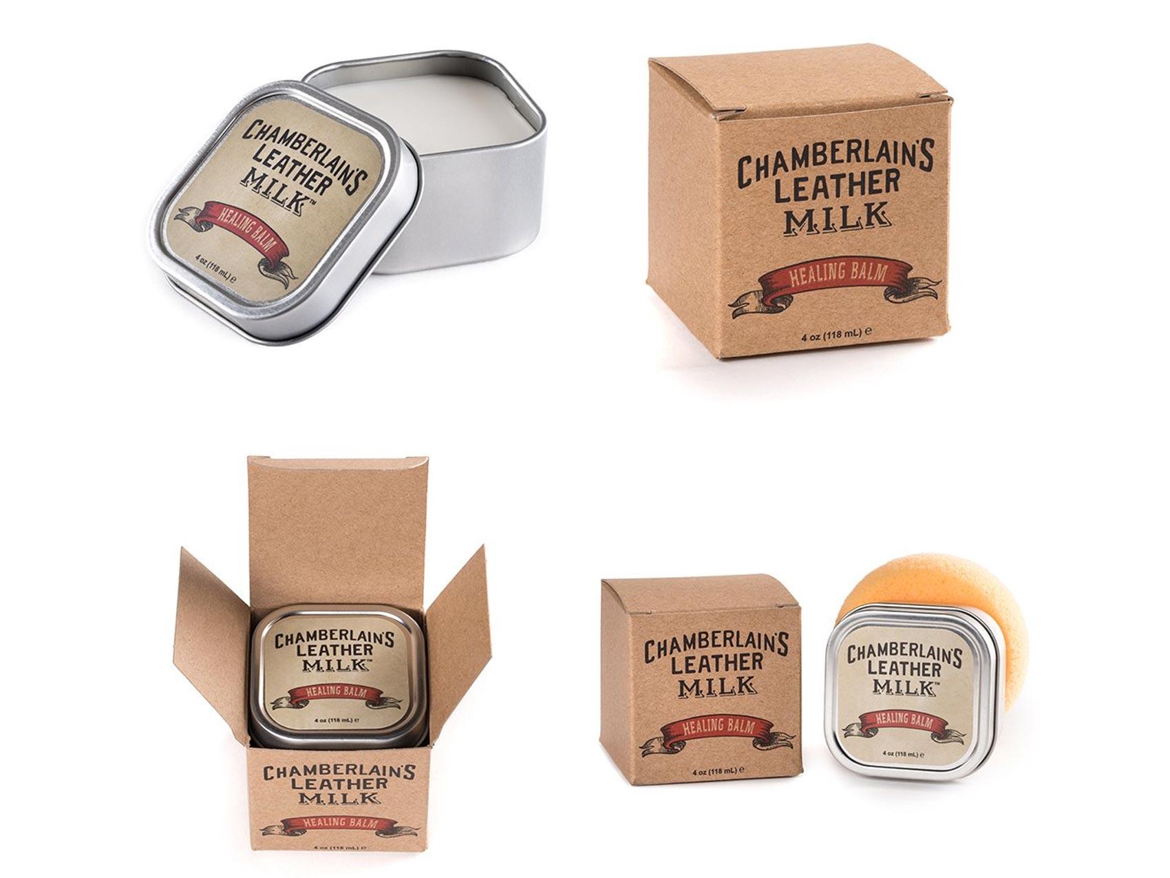 Chamberlains leather milk conditioner