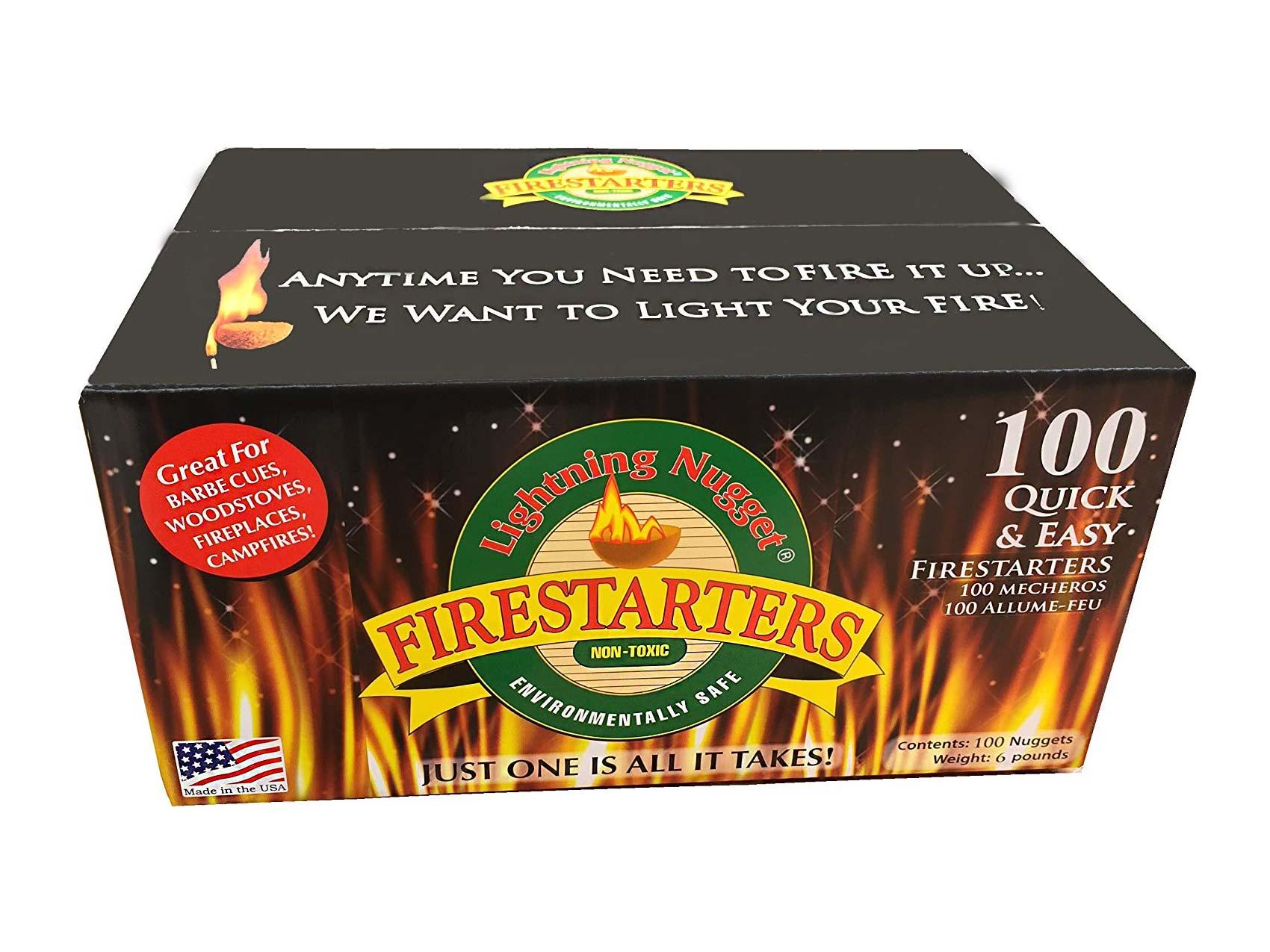 Firestarter logs