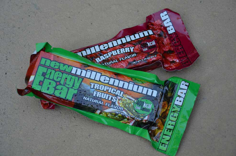 millenium energy bar