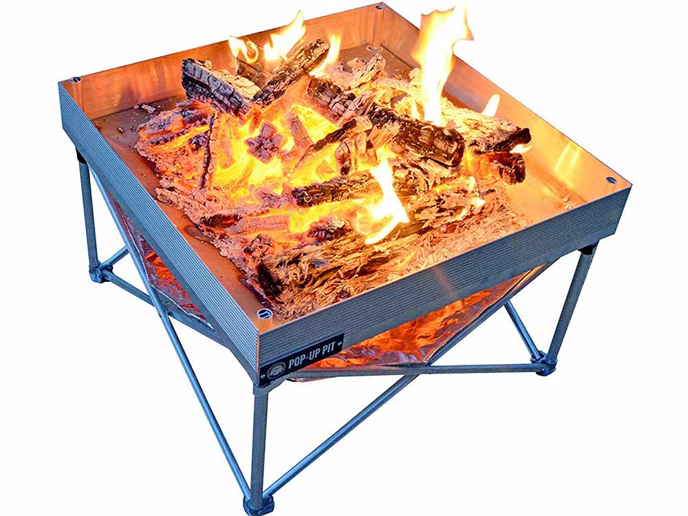 Fireside Outdoor Pop Up Fire Tables