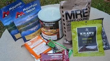 survival gear food