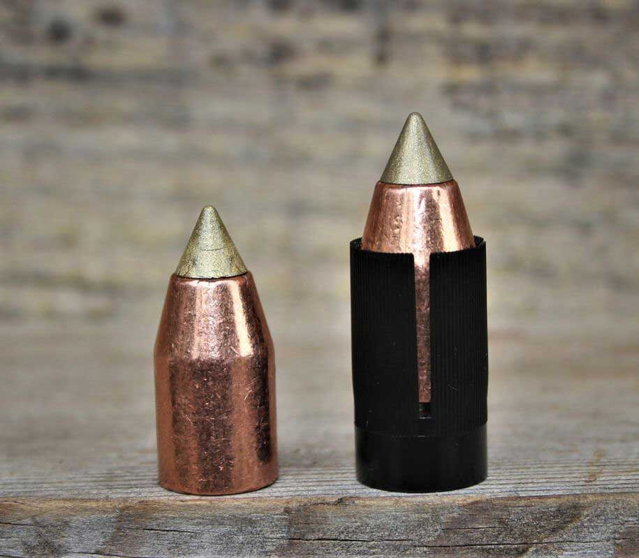 two scorpion pt gold bullets