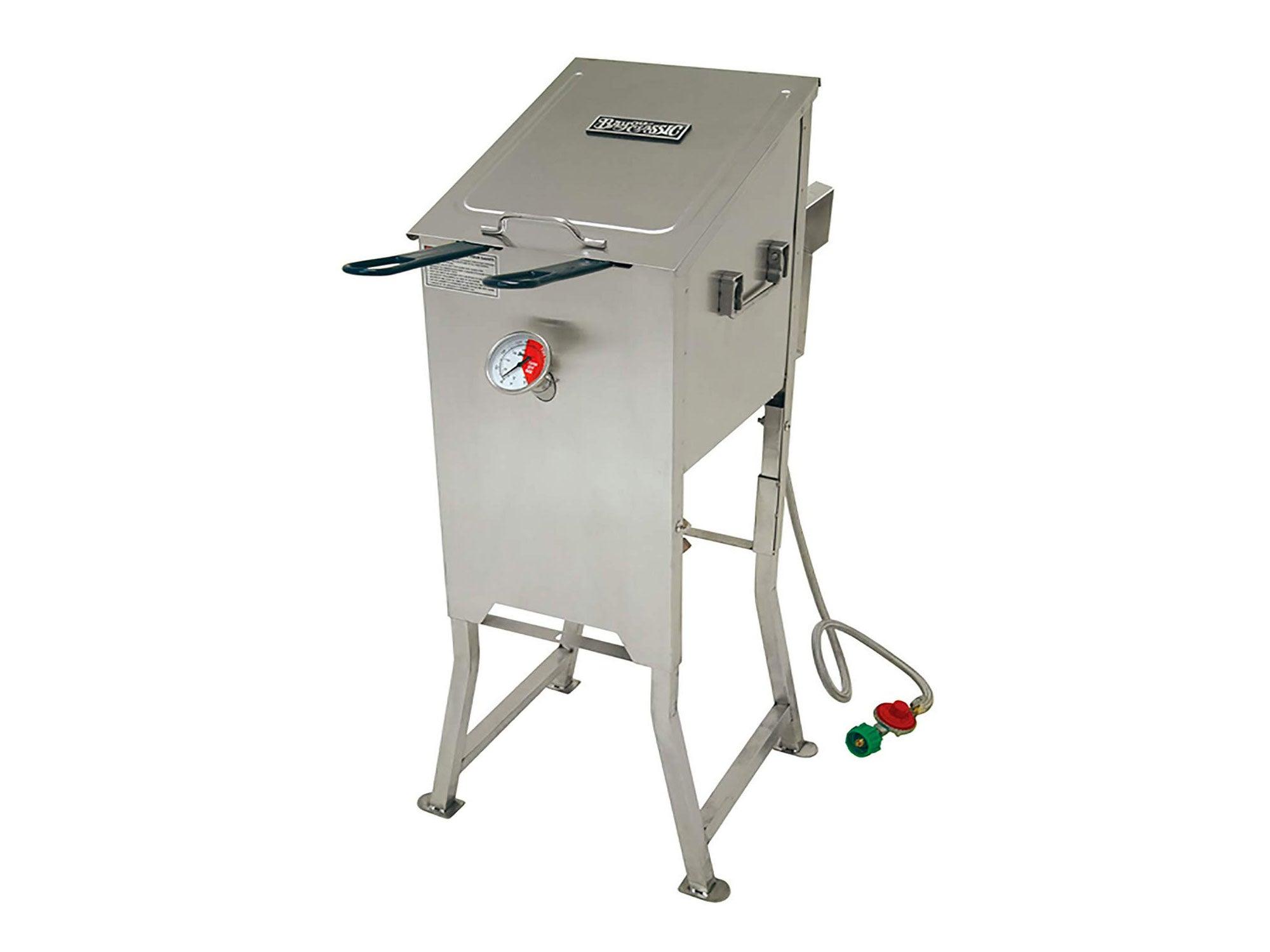 Bayou Classic 4-Gallon Bayou Fryer Stainless Steel