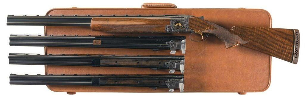 Browning Superposed four-barrel set